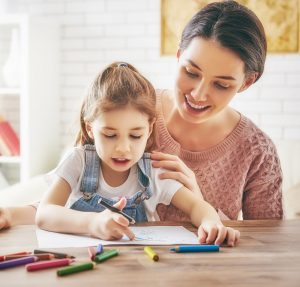 parent art therapy