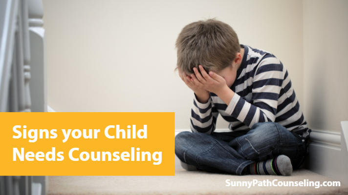 signs child needs counseling